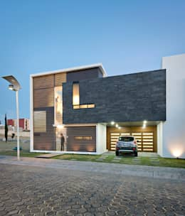 casa CeRo: Casas de estilo moderno por NonWarp