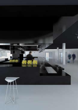 LOUNGE BAR : Hotel in stile  di FRANCESCO GENNARO Interior Design