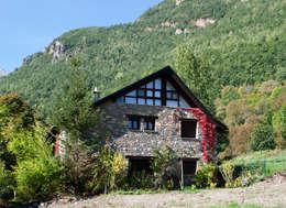 Ferraz Arquitectos: kırsal tarz tarz Evler