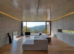 Projekty, minimalistyczne Domy zaprojektowane przez FL Architetti
