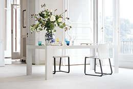 minimalistic Dining room by basaglia rota nodari