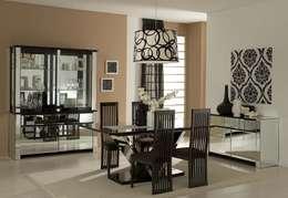 Dining Room:  Dining room by Neeras Design Studio