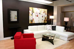 Living room by Neeras Design Studio