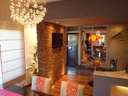 Interiorismo Zen: Comedores de estilo moderno por LEBEL