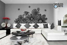 modern Living room by Vinilos con Arte