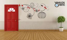 Corridor & hallway by Vinilos con Arte