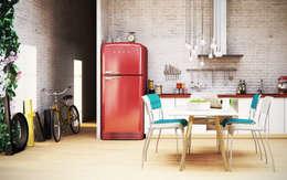 Cucina: Soggiorno in stile in stile Industriale di bytheways