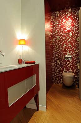 modern Bathroom by Atelièr di progettazione
