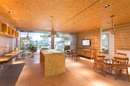 Projekty, egzotyczne Domy zaprojektowane przez Haruf Arquitetura + Design