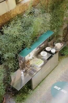 minimalistic Kitchen by SteellArt