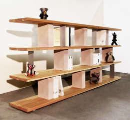 Volume 3: Soggiorno in stile in stile Minimalista di Fabrizio Demma Atelier