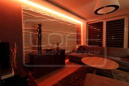 Гостиная в . Автор – Loft Design System Deutschland