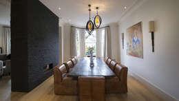 Projekty,  Jadalnia zaprojektowane przez Nelson Design Limited