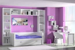 Girls Bedroom by Sofás Camas Cruces