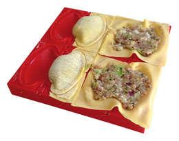 Le Dumpling Cube: Cuisine de style de style Moderne par CHEVALIER DIFFUSION