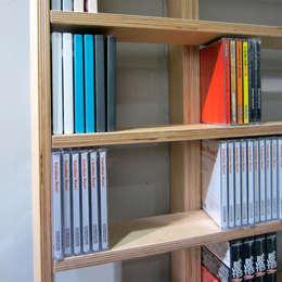 Wallbook: Salon de style de style Minimaliste par design