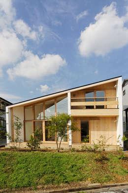 中山大輔建築設計事務所/Nakayama Architects의  주택