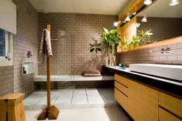 Projekty,  Łazienka zaprojektowane przez BONBA studio