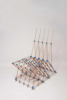 Elastic Chair:  de style  par MahlerBen Design