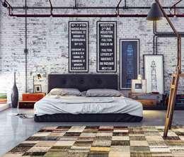 Projekty,  Ściany i podłogi zaprojektowane przez Paco Escrivá Muebles