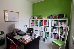 minimalistische Studeerkamer/kantoor door Studio_P - Luca Porcu Design