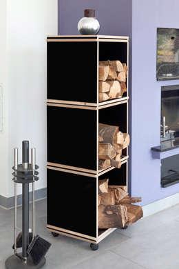 Bureau de style de style Moderne par Müller + Peters Tischlerei + Objektdesign GmbH
