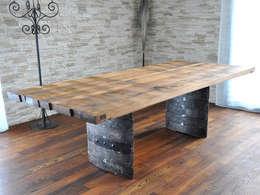 rustieke & brocante Eetkamer door Walter's Wood Idea AG