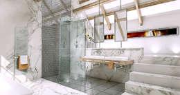 moderne Badkamer door Outsourcing Interior Design