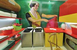 Lavandeira - Casa Cor: Cozinhas modernas por Rozânia Nicolau Arquitetura & Design de Interiores