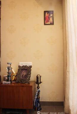 Master bedroom :   by kaamya design studio