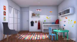 Quarto infantil  por  Diseñadora de Interiores, Decoradora y Home Stager