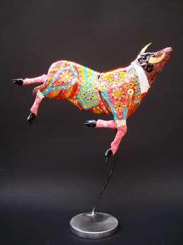 TOROS: Art de style  par Emaux Claude & Mady MICHEL