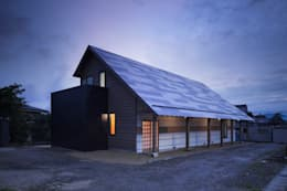 D-house exterior: Ground Design Co,. Ltd.が手掛けた家です。