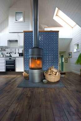 scandinavian Living room by Coast2Coast Architects
