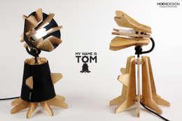 My name is TOM : 후스 디자인의  침실