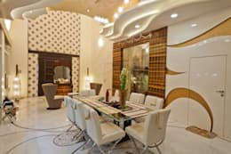 DINNING:  Household by NEX LVL DESIGNS PVT. LTD.