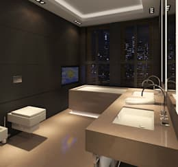 modern toilet design. Edgy Toilet Design  Modern Bathroom By Dziurdziaprojekt 10 Designs