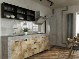 industriële Keuken door Aleksey Bereznyak