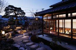 Projekty,  Ogród zaprojektowane przez S PLUS ONE