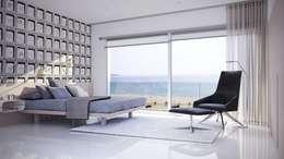 Dormitorios de estilo minimalista por Gramil Interiorismo II