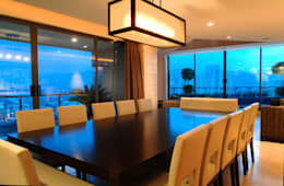 غرفة السفرة تنفيذ ARCO Arquitectura Contemporánea
