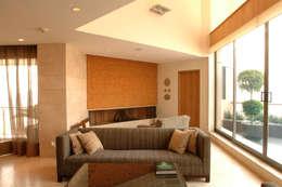 Projekty,  Salon zaprojektowane przez ARCO Arquitectura Contemporánea