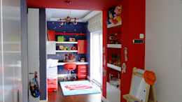 EDMİMARLIK INTERIOR STUDIO – GÖKTÜRK KEMERPARK EVLERİ: modern tarz Çocuk Odası