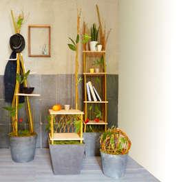 Purpuréa: Maison de style  par Helena Amalric Design