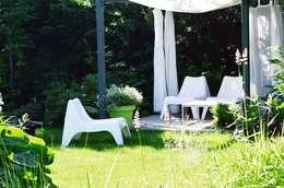 Ogród: styl , w kategorii Ogród zaprojektowany przez NISZA DESIGN OGRODY