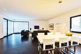 modern Living room by Helwig Haus und Raum Planungs GmbH