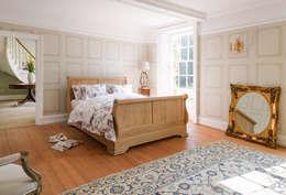 THE STORAGE BED: kırsal tarz tarz Yatak Odası