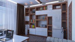Рабочий кабинет: Рабочие кабинеты в . Автор – Architoria 3D