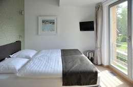 moderne Slaapkamer door die raumplaner