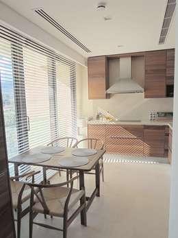 Visage Home Style – A project in İzmir, Turkiye. (kitchen)   - İzmir'de uygulaması bize ait bir projenin mutfağından bir kare.: modern tarz Mutfak